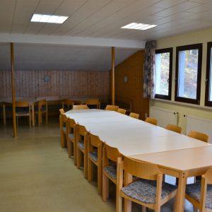 Waldhütte Seminarraum