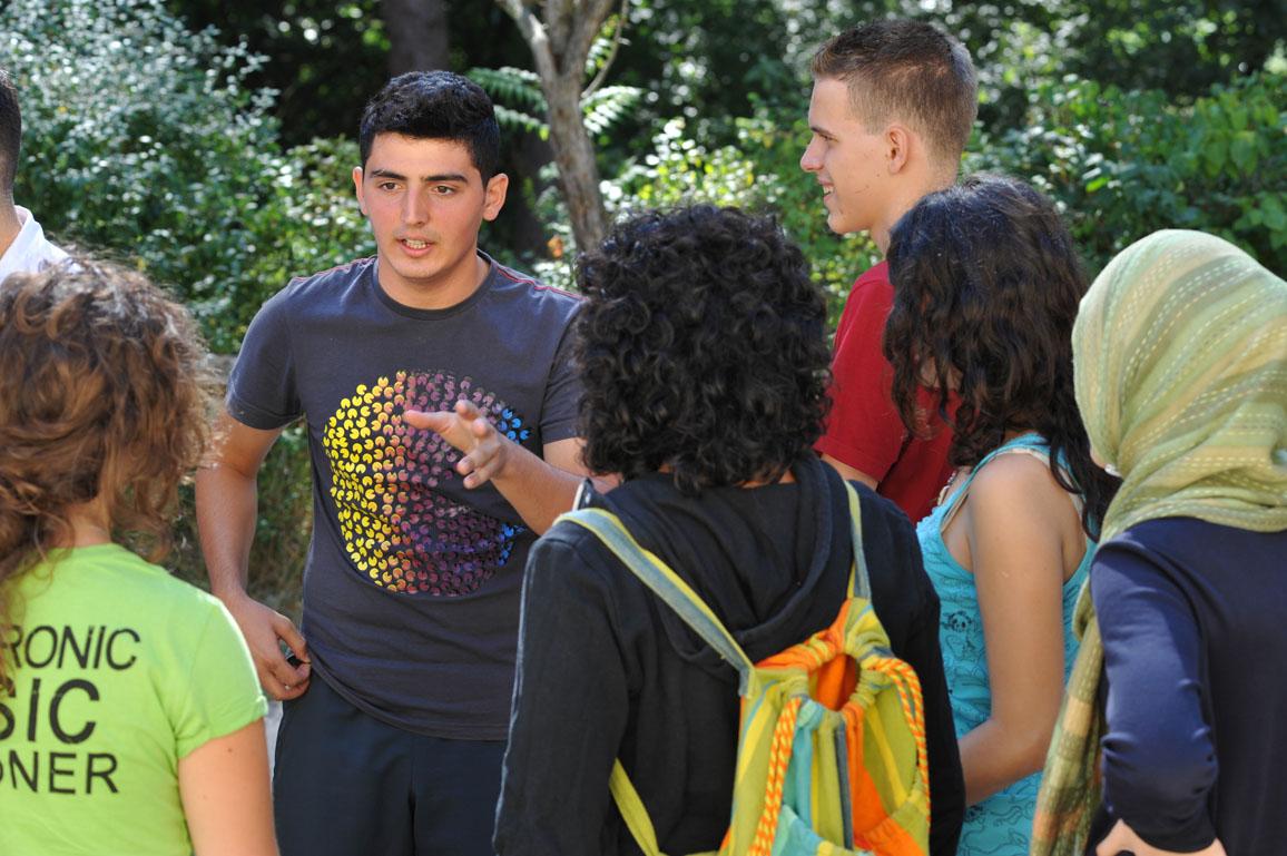 """Youth 4 Gender Equality"" Storkow_ 20. August 2009 Ansprechpartner ist Klaus Waiditschka, Jugendhilfe und Sozialarbeit e.V. FŸr Frank Peil und Lisa Lindner_ JUGEND fŸr Europa"